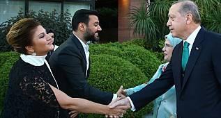 Cumhurbaşkanı Erdoğan'ın iftarında yıldızlar geçidi