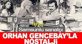 Orhan Gencebay'la nostalji film sahneleri
