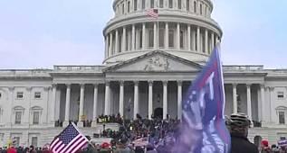 ABD halk kongre binasını bastı, Amerika karıştı