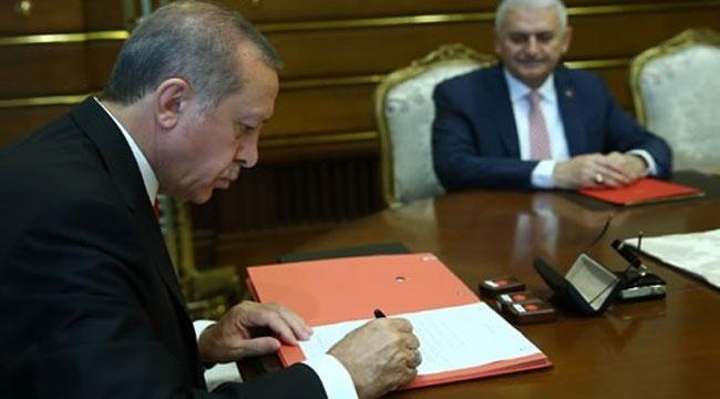 Cumhurbaşkanı Erdoğan rektör atamalarını yaptı