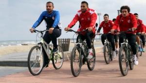 Samsunspor'da bisikletli idman