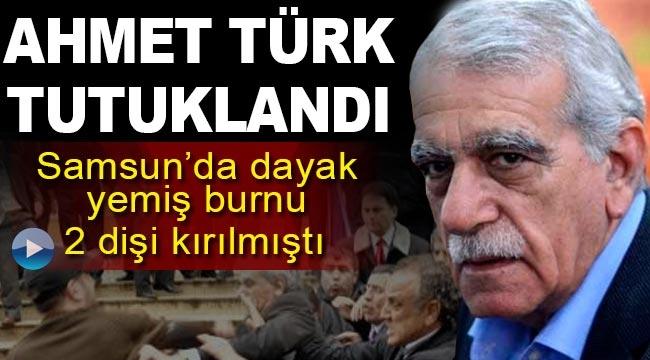 Ahmet Türk tutuklandı, Samsun'da yumruk yemişti