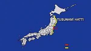 Japonya'da büyük deprem Tsunami uyarısı yapıldı