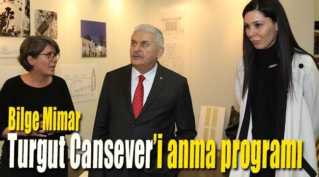 Bilge Mimar Turgut Cansever'i anma programı