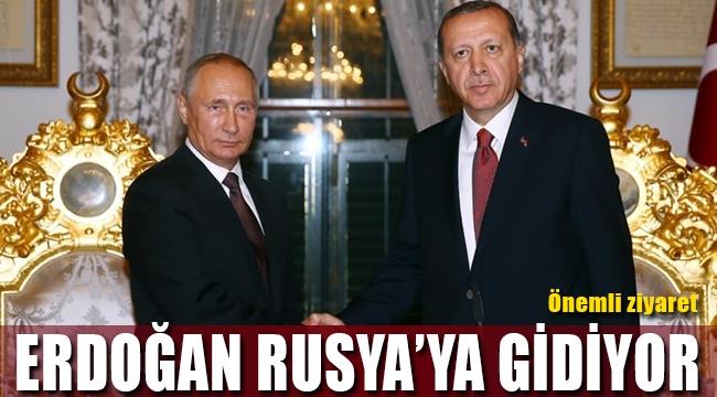 Cumhurbaşkanı Erdoğan'dan Rusya ziyareti