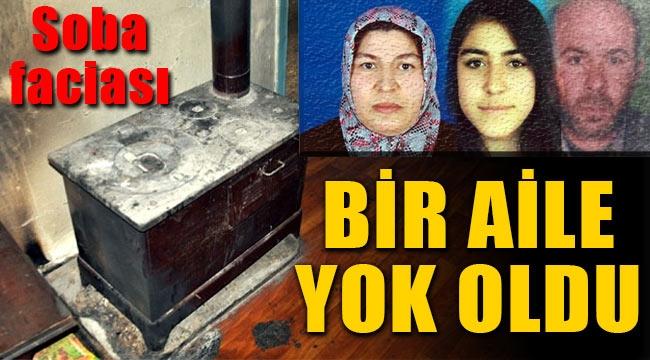 Konya'da soba ölüm getirdi, bir aile yok oldu