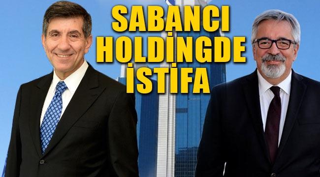 Sabancı Holding'de zirvede istifa