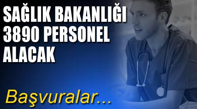 Sağlık Bakanlığı açıkladı yeni sağlık personeli alıyor