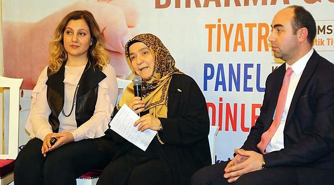 Samsun'da sigaranın zararları anlatıldı