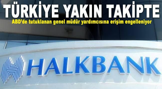 Halkbank Genel Müdür Yardımcısı'nın ABD tutuklanmasına tepki