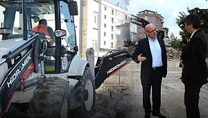 Metruk binaların yıkımına devam!