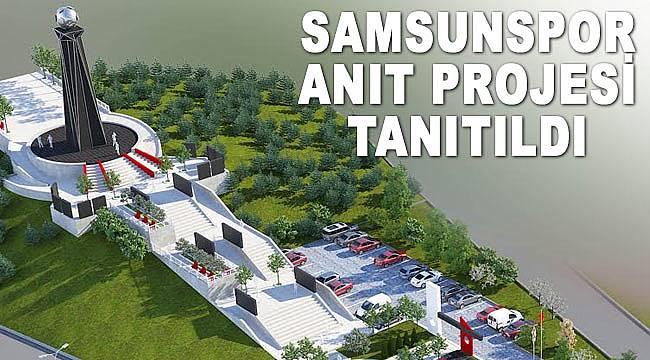 Samsunspor anıtı tanıtıldı