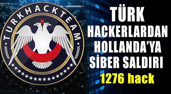 Türk Hack Team grubu Hollanda sitelerini hackledi