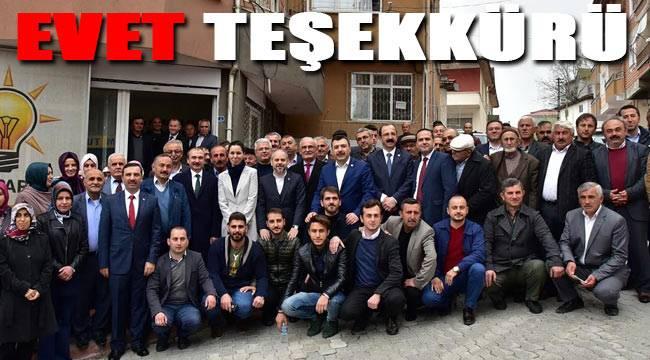 AK Parti'den teşkilata teşekkür