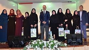 Ezber hadis yarışmasında ödüller verildi