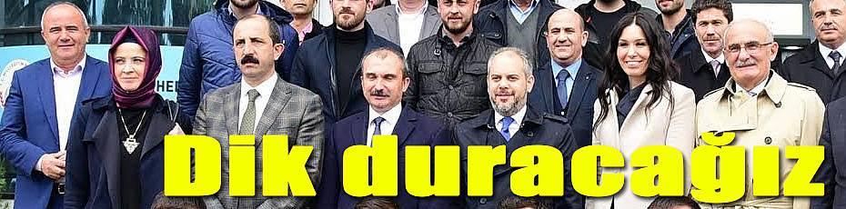 Yılmaz, dik duracağız güçlü Türkiye olacağız