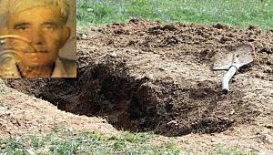 Babasını baltayla öldürdü sonra gömdü