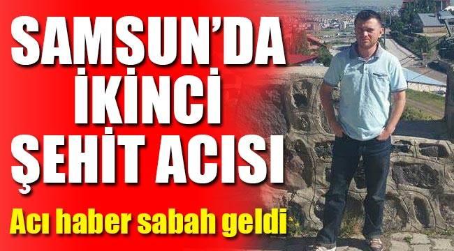Samsun Terme'li Mustafa Özdemir şehit oldu