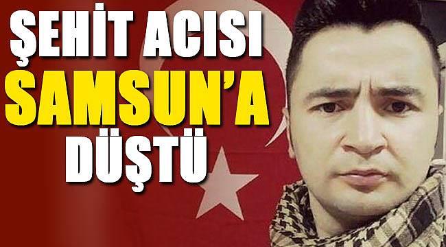 Samsunlu Polis Mesut Yılmaz şehit oldu