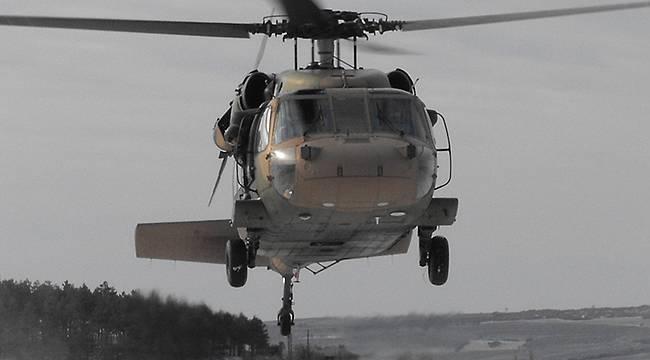 Şırnak'ta askeri helikopter düştü, çok sayıda şehit var