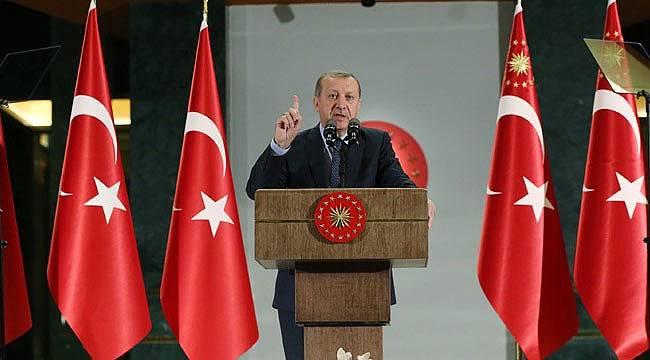 Erdoğan'dan ABD'nin koruma polisi kararına sert tepki