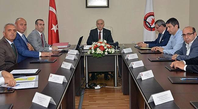 OSB toplantısı gerçekleşti