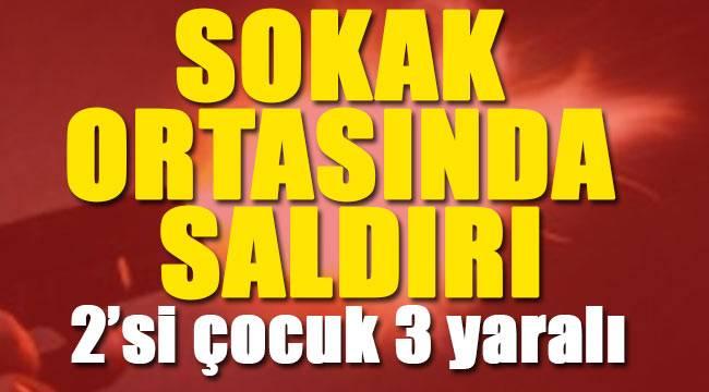 Samsun'da 2 çocuk ve bir yetişkin vuruldu