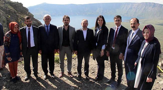 Samsun'dan Bitlis'e tam kadro ziyaret
