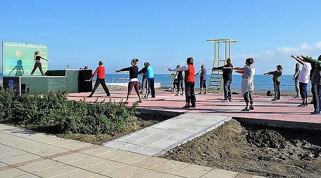 Vatandaşlara sağlıklı yaşam için ücretsiz spor fırsatı