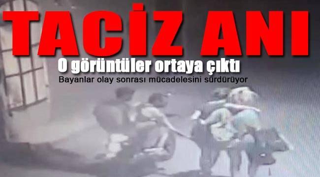 İzmir'deki taciz olayının görüntüleri ortaya çıktı