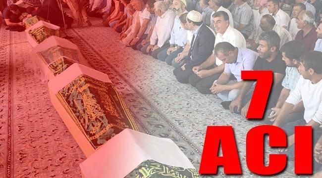 Sakarya'da ölen yedi işçi Mardin'de toprağa verildi