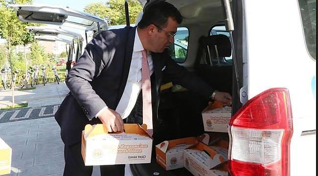 Atakum'da 3 bin aile kurban eti dağıtıldı