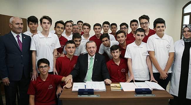 Cumhurbaşkanı Erdoğan, eğitim sisteminin ortak amacına dikkat çekti ı