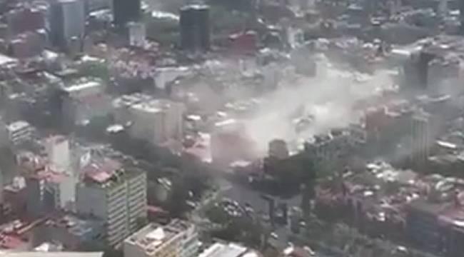 Meksika'da deprem 42 ölü
