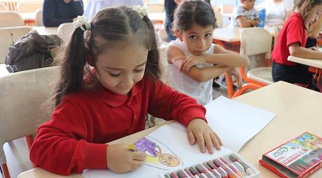 Öğrencilerin ilk okul heyecanı