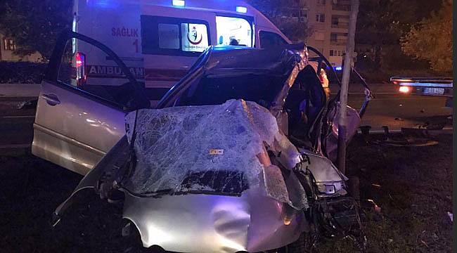 İzmir'de 2 polis şehit oldu feci kaza