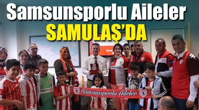 Samsunsporlu ailelerden Samulaş'a teşekkür