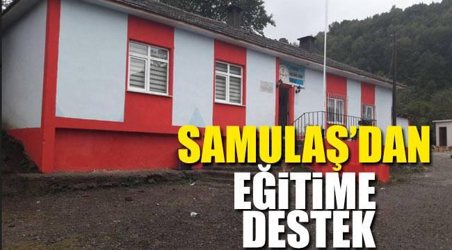 SAMULAŞ'dan eğitime büyük katkı