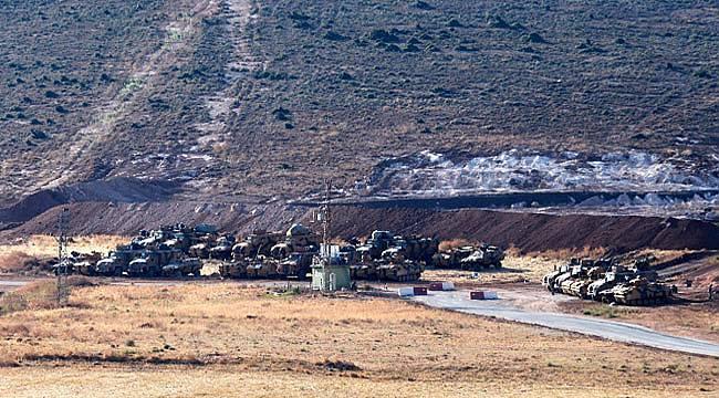 Türk askeri Suriye sınırını geçti