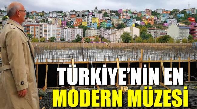 Türkiye'nin en modern müzesi Samsun'da yapılıyor