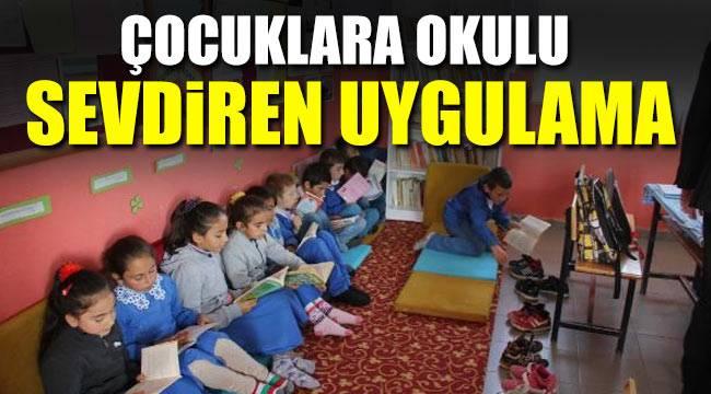 Öğrencilerin devamsızlık sorununu öğretmen çözdü