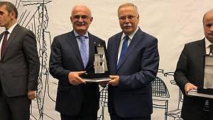 Samsun Büyükşehir Belediyesi'ne proje ödülü