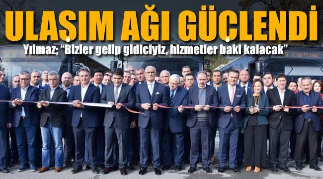 Samsun'da ulaşım ağı güçlendi