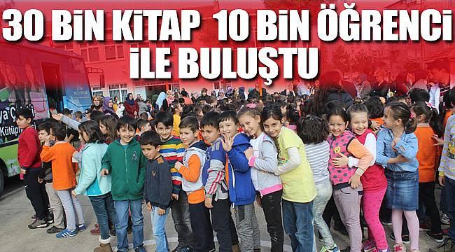 30 bin kitap öğrenciyle buluştu
