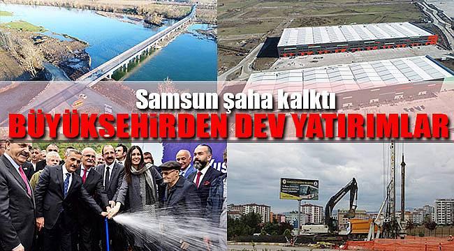 2017'de Büyükşehir'den dev yatırımlar