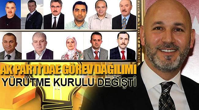 Samsun AK parti il yönetiminde değişiklik