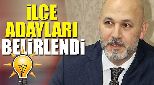AK Parti'de ilçe başkanları belirleniyor