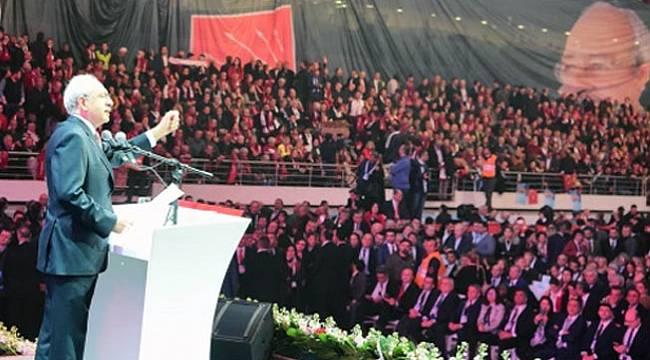 CHP'de Kemal Kılıçdaroğlu yeniden genel başkan seçildi