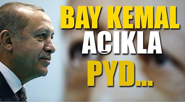 Cumhurbaşkanı Erdoğan, Bay Kemal yiğitsen açıkla