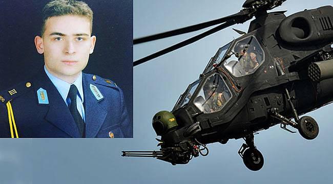 Düşen helikopterde pilot Yüzbaşı Mehmet İlker Kahraman şehit oldu